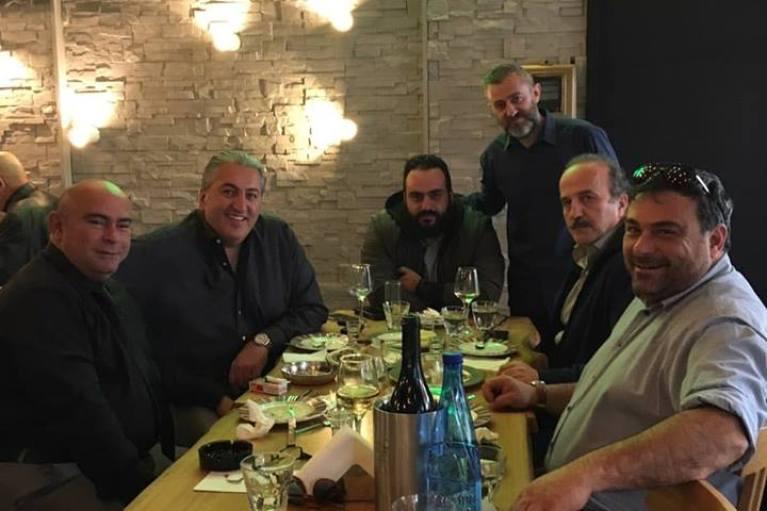 Δείπνησαν μαζί  Μπούσης – Παπαδάκης!