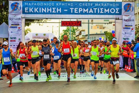 «Μαραθώνιος Κρήτης – Crete Marathon 2019 – ο Πράσινος Μαραθώνιος»
