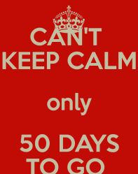 50 days to go