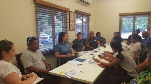 OAA and NAA meeting with Nauruan Community Leaders