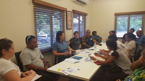 OAA and NAA meeting with Nauruan Community Leaders