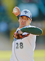 Beloit Snappers Pitcher Andres Avila (6 IP / 6 H / 0 ER / 1 BB / 4 K / Win)