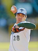 Beloit Snappers Pitcher Andres Avila (6 IP / 6 H / 0 ER / 1 BB / 4 K / Win)