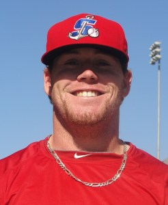 Stockton Ports Outfielder Dusty Robinson (4 for 5 / Home Run / Double / 4 RBIs)