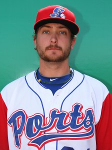 Midland RockHounds Pitcher Nate Long (5 IP / 1 H / 0 ER / 3 BB / 2 K / Win)