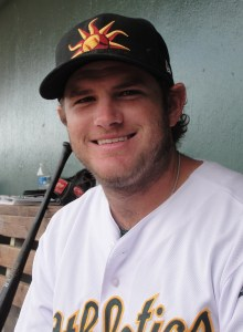 Midland RockHounds Third Baseman Max Muncy (3 for 3 / Home Run / Double / 4 RBIs)