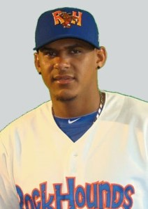 A's Farmhand Of The Day: Midland RockHounds Third Baseman Jefry Marte (2 for 5 / 2 RBIs / GWRBI)