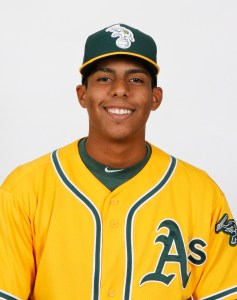 A's Prospect Of The Day: AZL A's Pitcher Argenis Blanco (5 2/3 IP / 3 H / 0 ER / 1 BB / 8 K / Win)