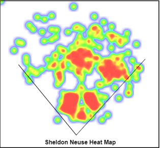 Heat Map via MLBFarm.com