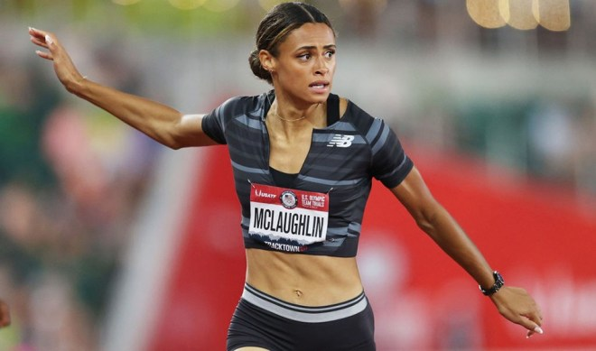 """Sydney McLaughlin: """"I acknowledge the world record but the job is not done""""  - AW"""