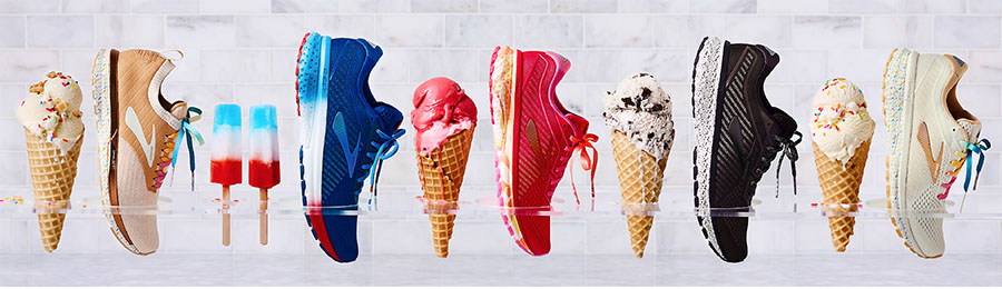 Ice Cream + Running Shoes \u003d Brooks