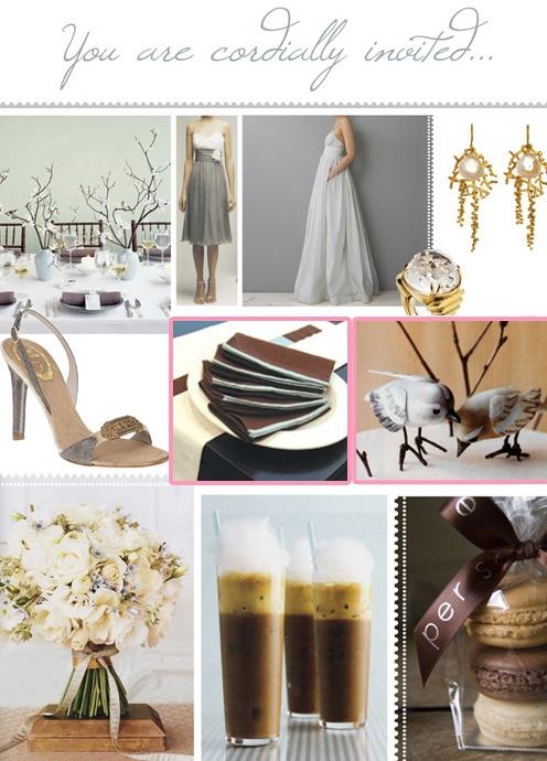 A Wedding Inspiration Board
