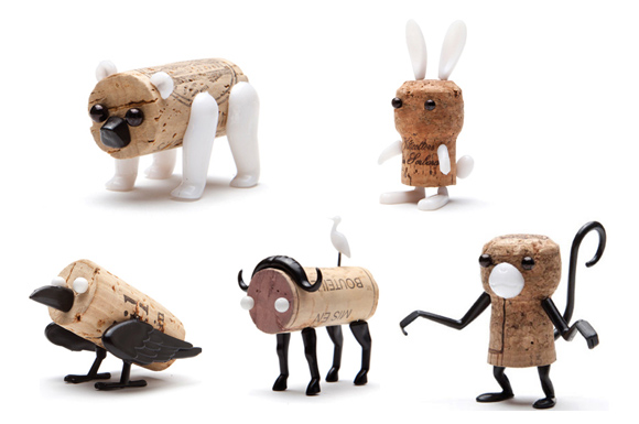 Create Cork Creatures With Pins