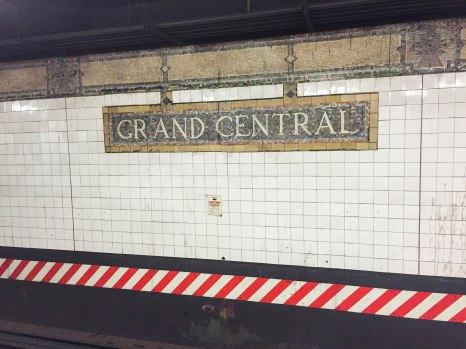 Grand Central Station--New York City