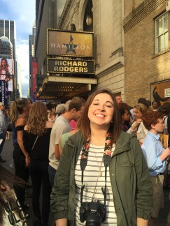 Hamilton--Richard Rodgers Theatre--New York City