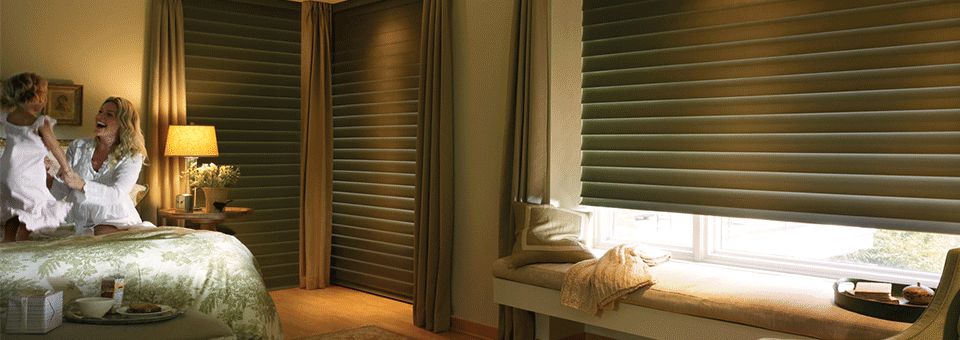 at home blinds decor