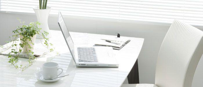 Office plants lighten the work load