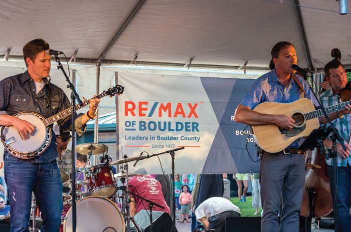 RE/MAX of Boulder Thanks Boulder County and Turns Up the Music