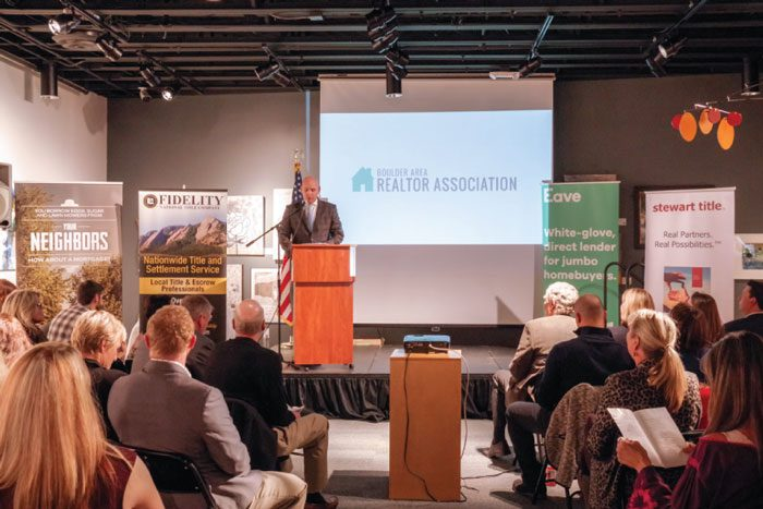 Boulder Area Realtor Association Holds Annual Installation and Awards Ceremony