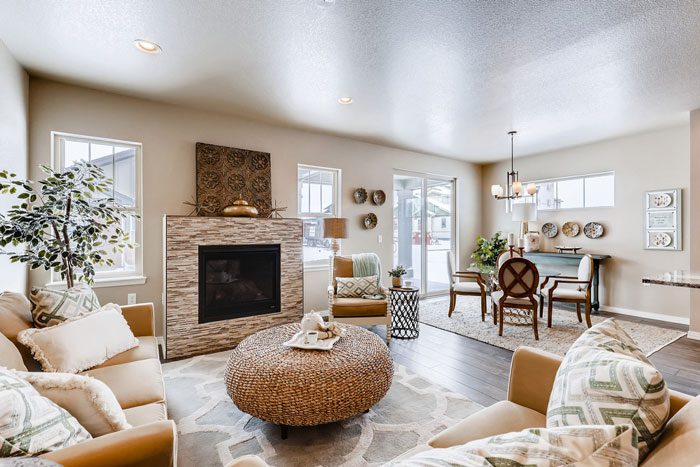 Boulder Creek at Denio West offers main-floor living in a low-maintenance package