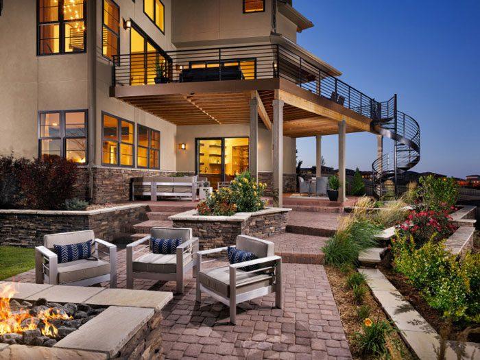 Century Communities' Retreat at Ridgegate model home wins award