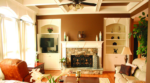 Design Recipes The do's and don'ts of affordable family room upgrades