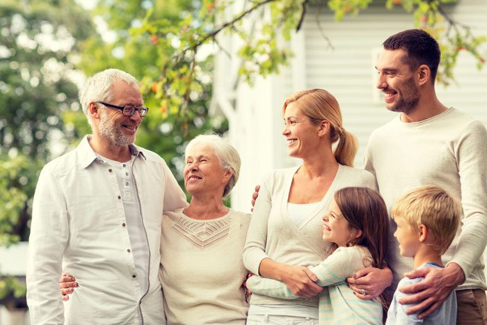 Most multigenerational households are made up of two adult generations, typically parents and their adult children. (Photo: Bigstock).
