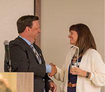 Chair Award: Stephanie Watson.