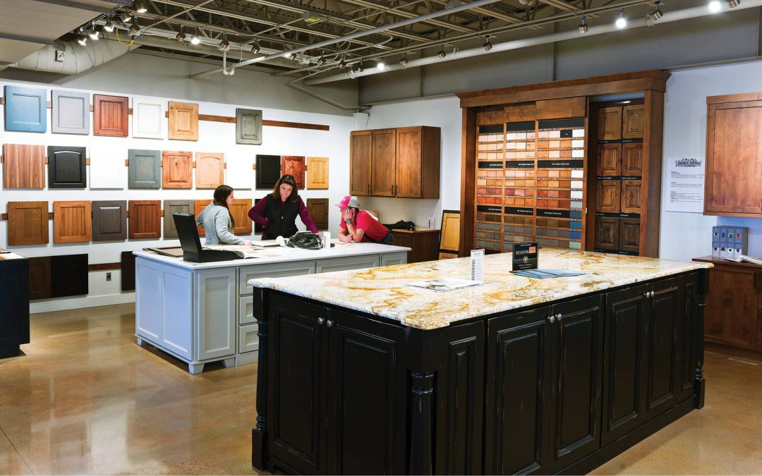 Create Your Custom Look at Tharp Custom Cabinetry