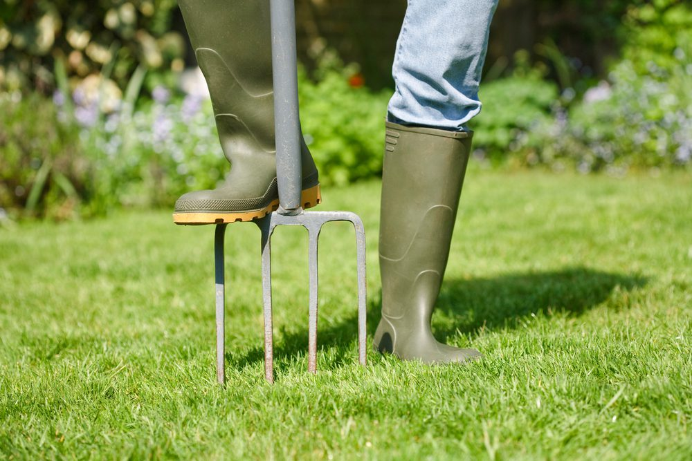 It's Time to Aerate Your Lawn