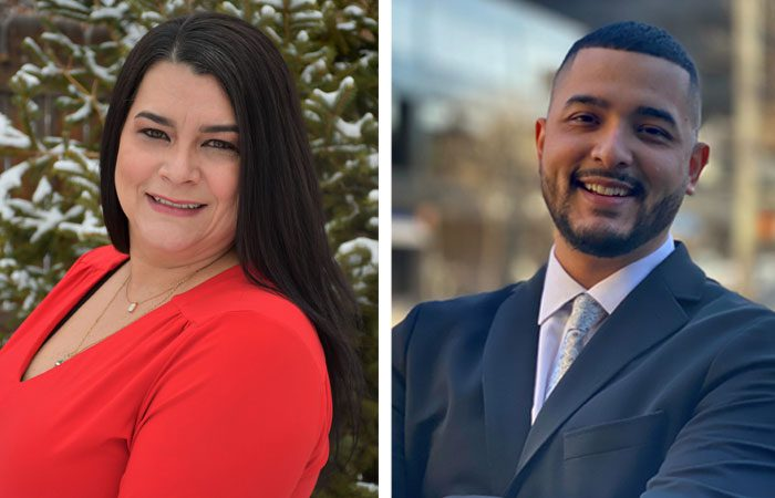 Sears Real Estate in Greeley welcomes Karrie Grizzell and Abiud Barrandry