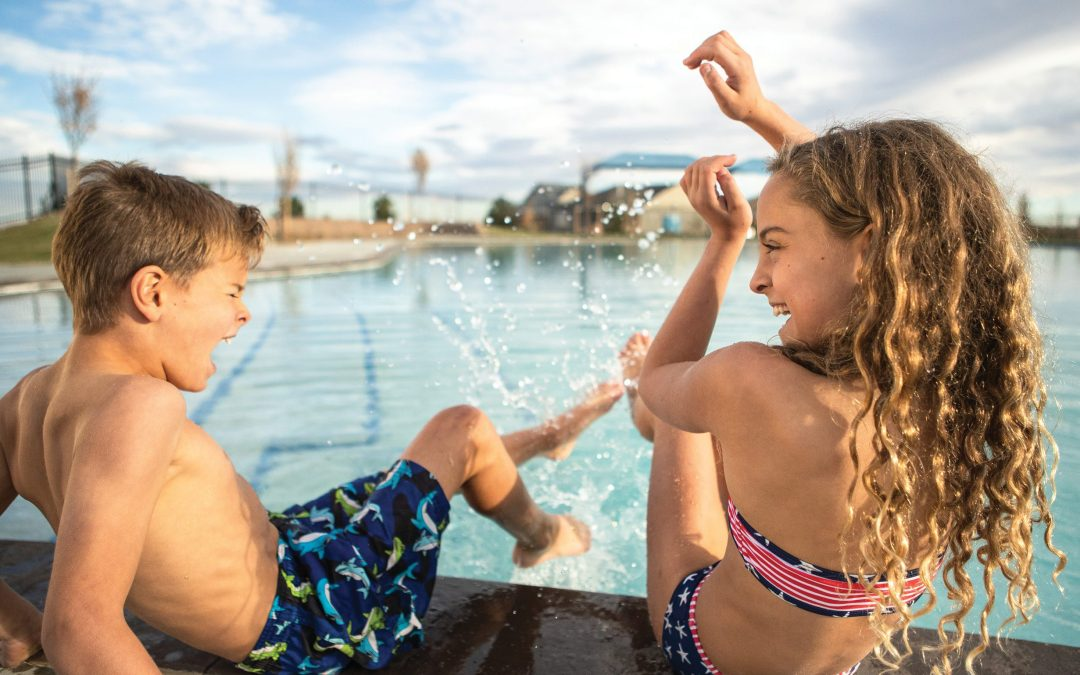 Summertime at Barefoot Lakes