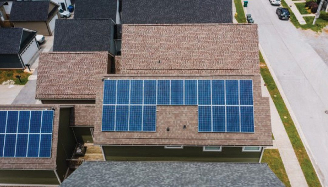 Selling or buying a home with solar