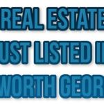 Acworth GA Real Estate Listed This Week