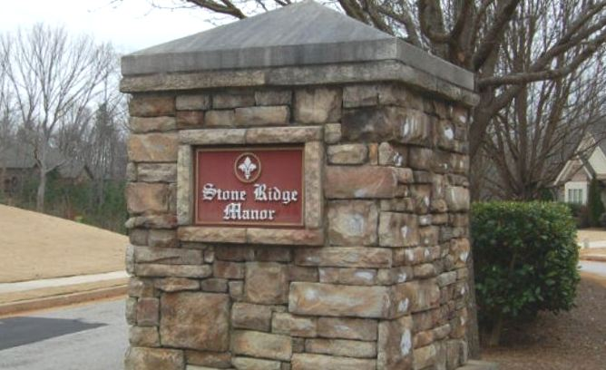 Stone Ridge Manor Buford Homes By Almont Homes