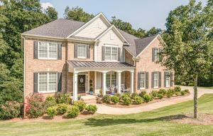Home In Cumming GA Lake Forest Subdivision