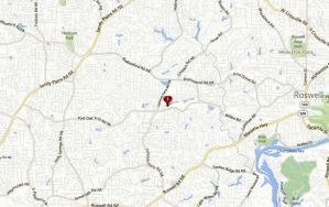 Marietta Map Location Alpine Lakes Subdivision