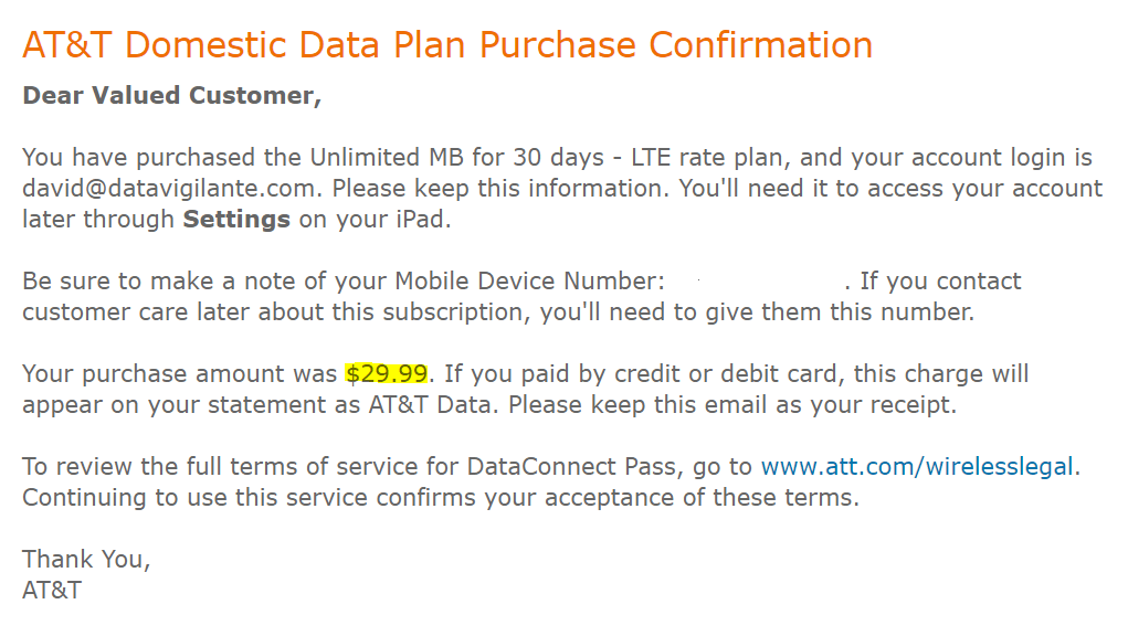 best deal on unlimited data anywhere!
