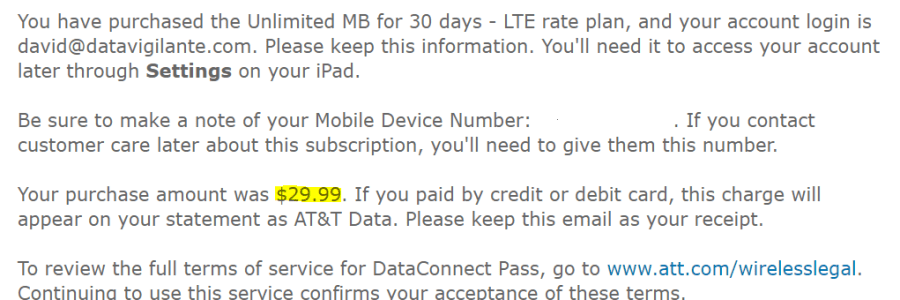 best deal on unlimited data - AT&T