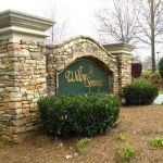 Willow Springs Community Entrance