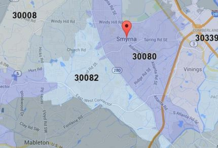 Homes For Sale In Smyrna GA By Zip Code