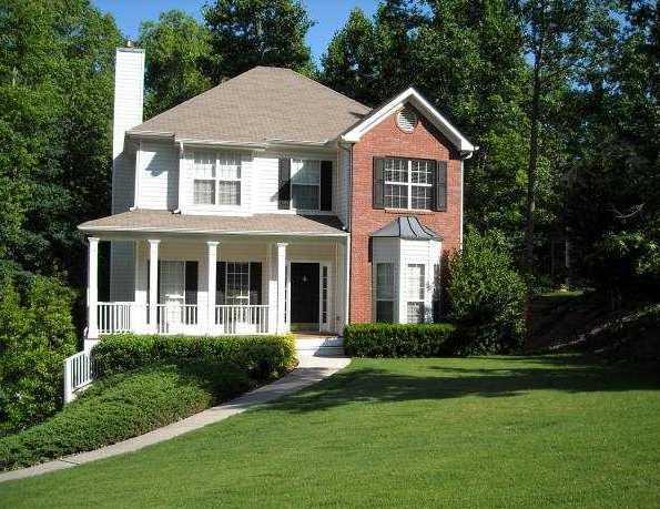 Ashton Subdivision Suwanee GA Homes