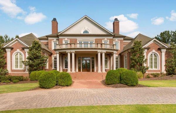 Estate Home In The River Club Suwanee GA