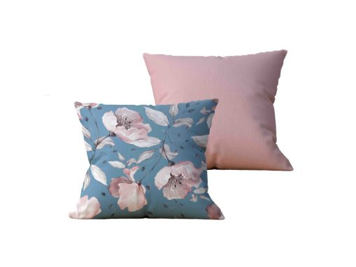 Kit com 2 Almofadas decorativas Flor Essence - 45x45 - by #1 AtHome Loja