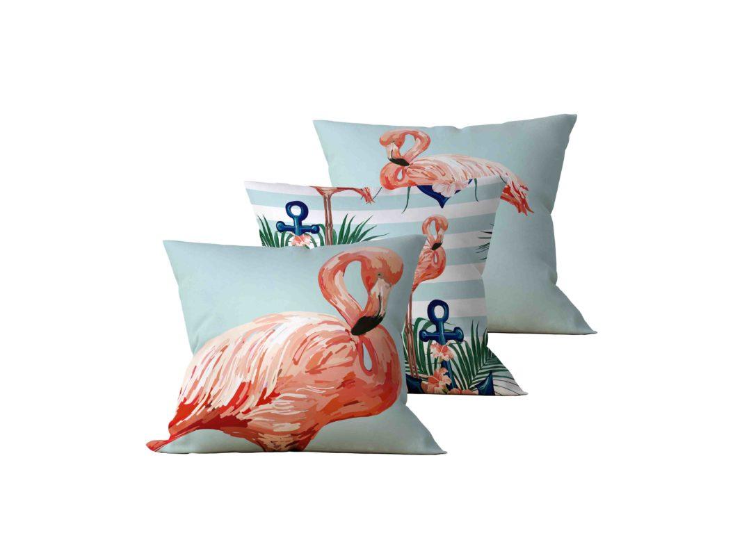 Kit: 3 Almofadas Decorativas Fenicott - 45x45