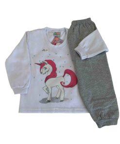 Pijama Infantil Unicórnio - Dadomile