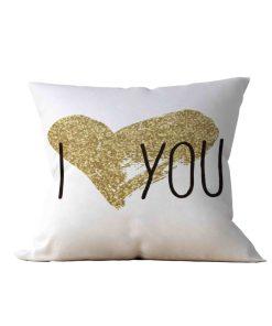 Almofada Decorativa I Love You - 45x45