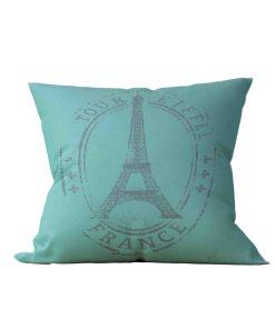 Almofada Decorativa Eiffel Green - 45x45