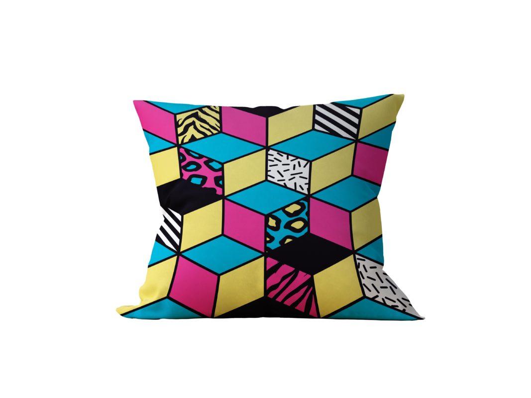 Almofada Decorativa Cub - 45x45