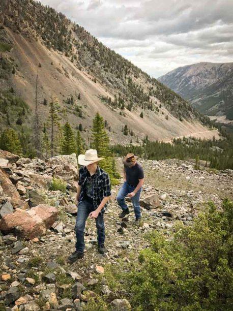Absaroka-Beartooth Wilderness Hellroaring Canyon